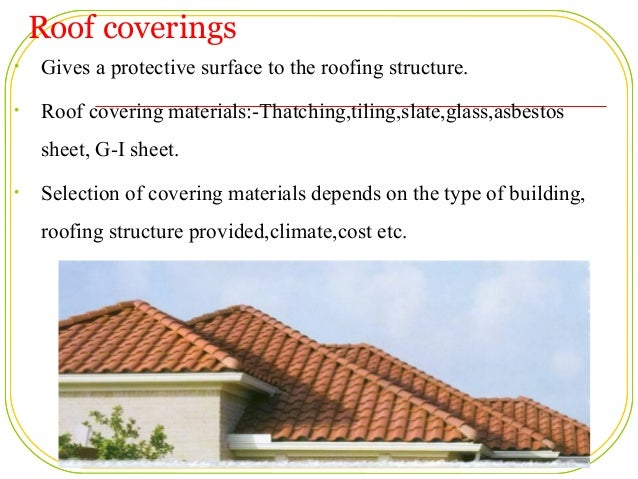 Amazing Roof Coverings ...