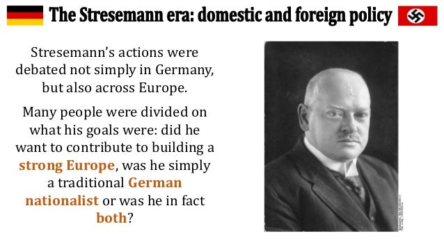 how far did the weimar republic recover under stresemann essay Searches related to why did the weimar republic collapse in 1933  how far did the weimar republic recover under  the weimar republic essay - why did the.