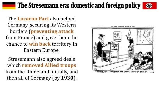 Weimar Germany Stresemann Good European Good German Or Both