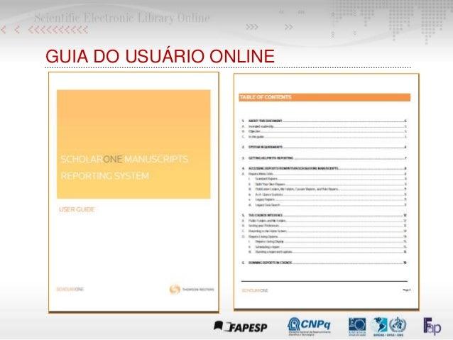 GUIA DO USUÁRIO ONLINE