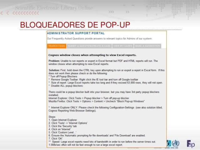 BLOQUEADORES DE POP-UP