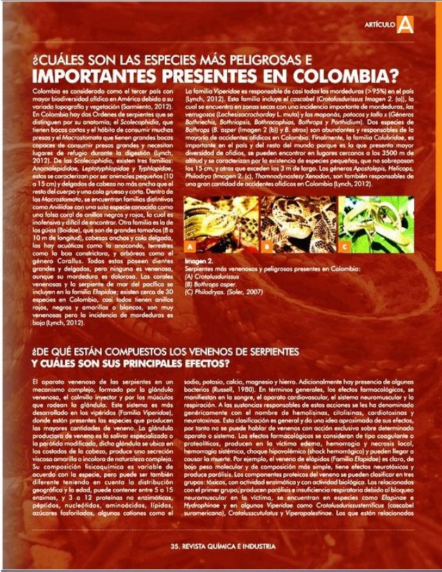 ARTICULO A  áCUÁLES SON LAS ESPECIES  PEuGRosAs E EMPEÜWANTÉS PRESENTES  «Éükflïrïfififl?   Coflombia «rs consïdnrado como al M...