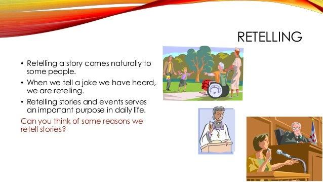 Summarizing and paraphrasing activities retelling