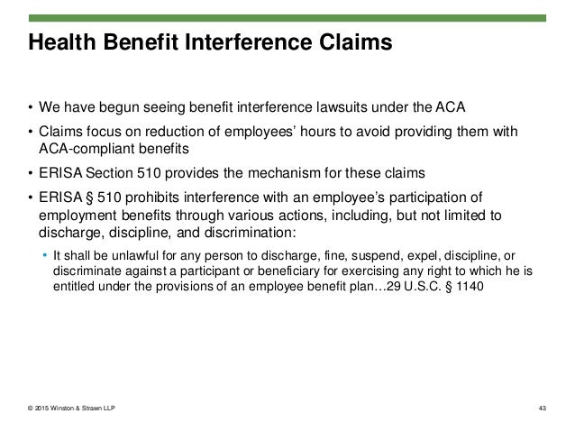 The Affordable Care Act – Compliance Challenges for Employers