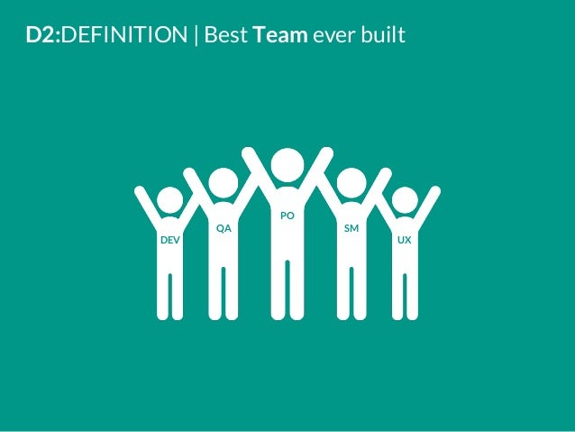 D2:DEFINITION   Best Team Ever Built DEV PO SMQA UX ...