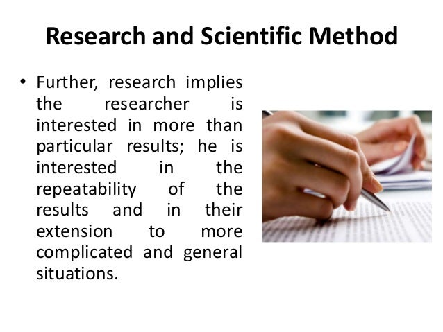 five scientific methods of research The norms of research norms are important to scientific research some of these  norms concerns good research practice and apply to researchers qua.