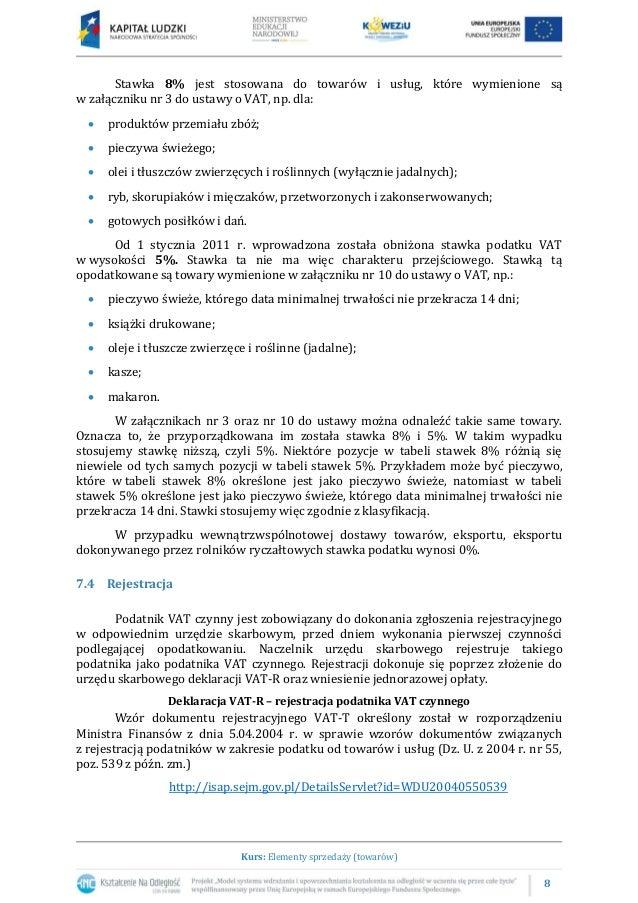 71 Przepisy Prawa Dotyczące Podatku Vat