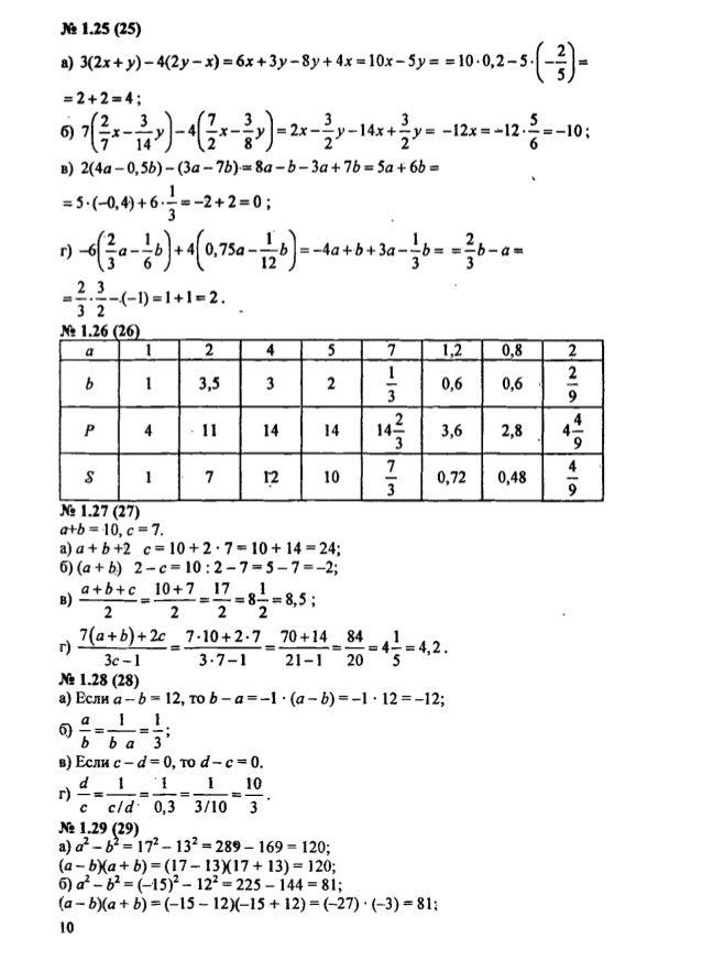 Гдз по дидактические материалы по алгебре 7 класс попов — pic 2