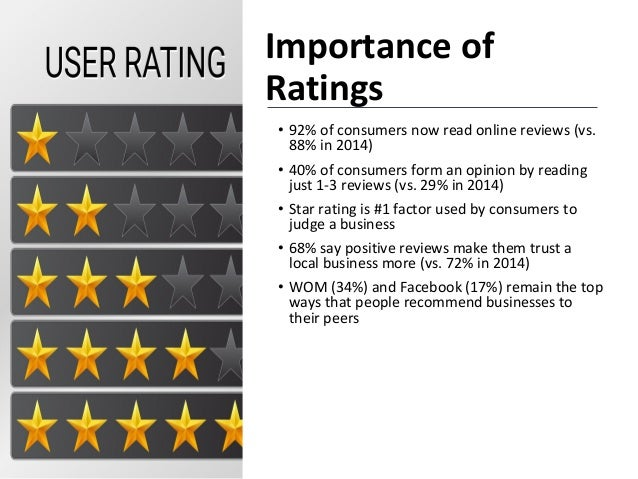 get good reviews