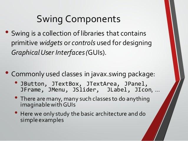 Java OOP Programming language (Part 7) - Swing