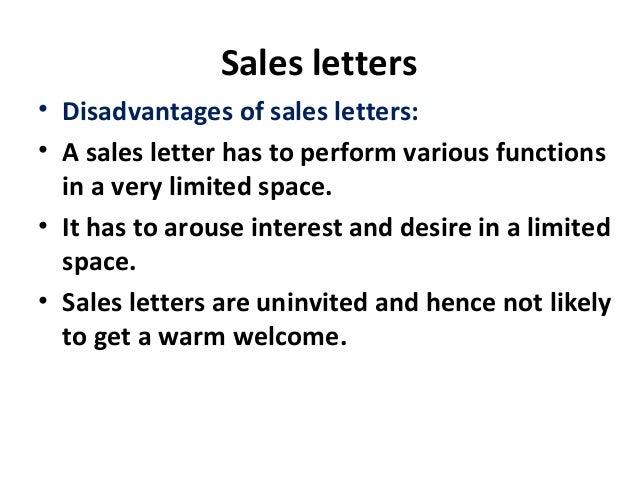 7 Sales Letters