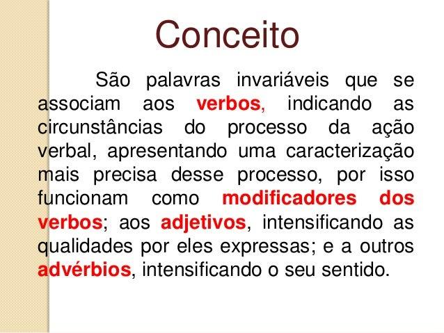 7.6   advérbios (estudo completo) Slide 2