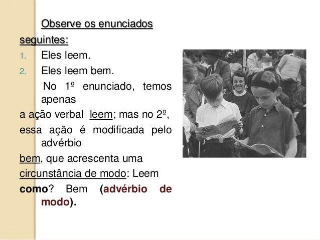 7.6   advérbios (estudo completo) Slide 3