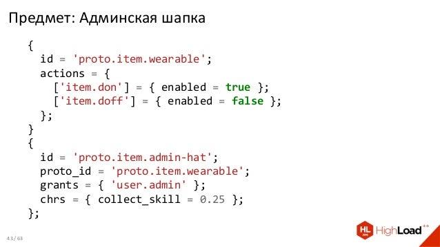 Предмет: Админская шапка { id = 'proto.item.wearable'; actions = { ['item.don'] = { enabled = true }; ['item.doff'] = { en...