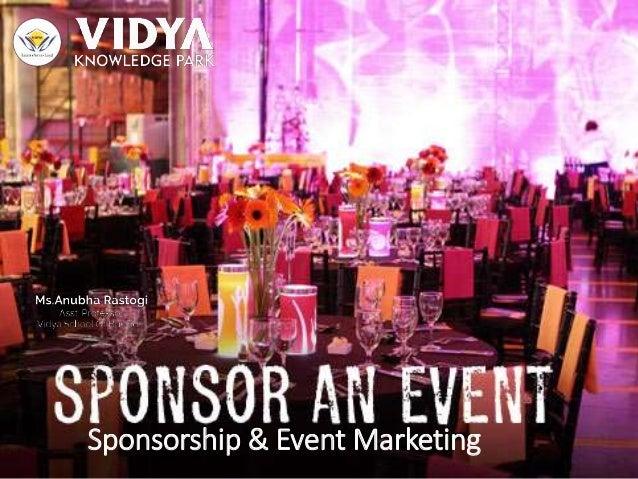 Sponsorship & Event Marketing