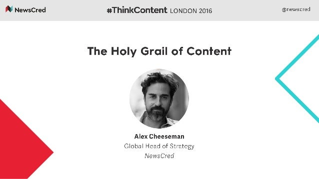 Content marketing & the quest for the Holy Grail