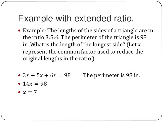 7 1 7 2 Ratios And Proportions