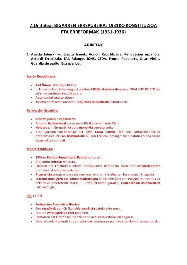 BIGARREN ERREPUBLIKA SLIDESHARE PDF DOWNLOAD