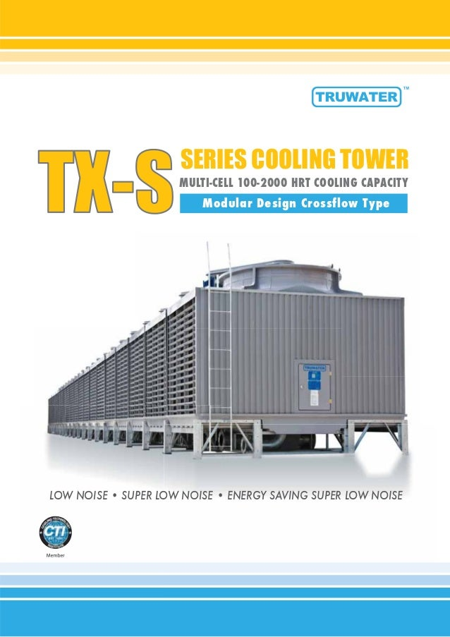 cooling tower modular design crossflow type rh slideshare net Nuclear Cooling Tower Nuclear Cooling Tower