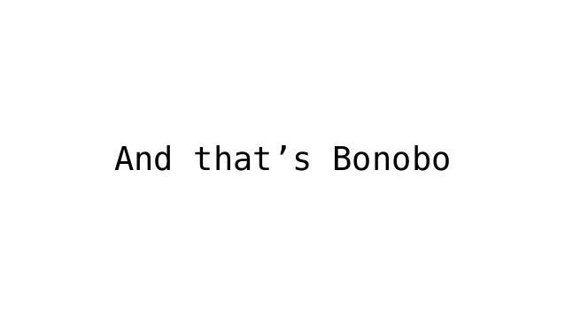 Bonobo - One - O - One