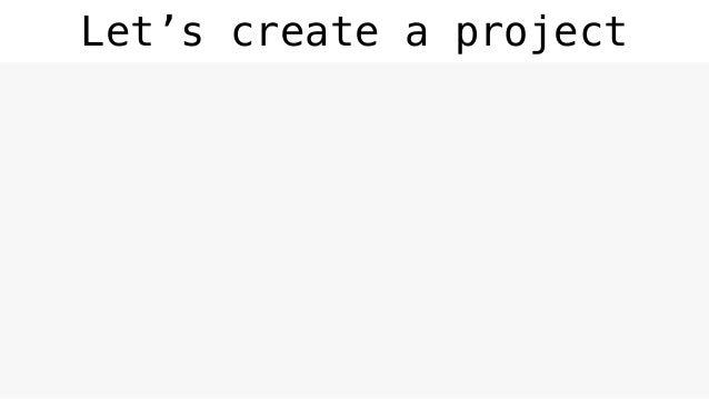 Let's create a project ~ $ pip install bonobo cookiecutter ~ $ bonobo init pyparis ~ $ cd pyparis