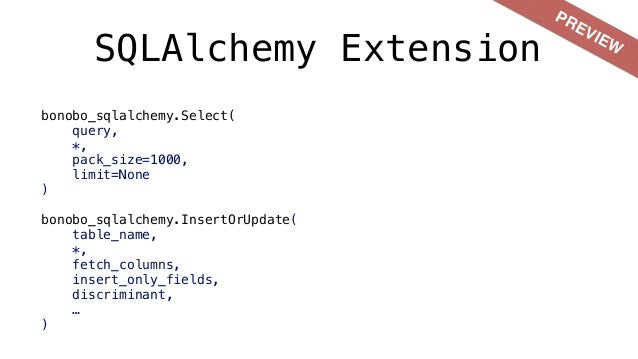 RIP rdc.etl • 2013-2015, python 2.7. • Brings most of the execution algorithms. • Different context. • Learn from mistakes.
