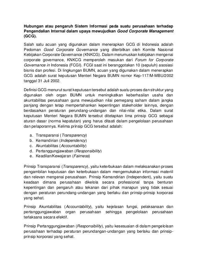 good corporate governance indonesia pdf