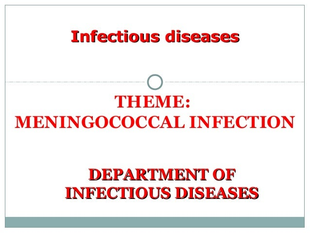 Meningococcal infection