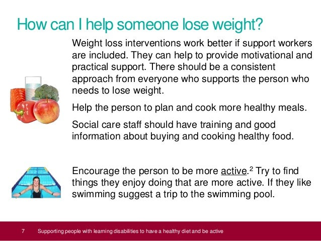 Supporting People With Learning Disabilities To Have A Healthy Diet A