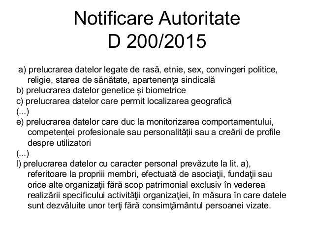 GDPR GDPR – General Data Protection Regulation – Regulamentul general privind protecția datelor – Regulamentul UE 2016/679...