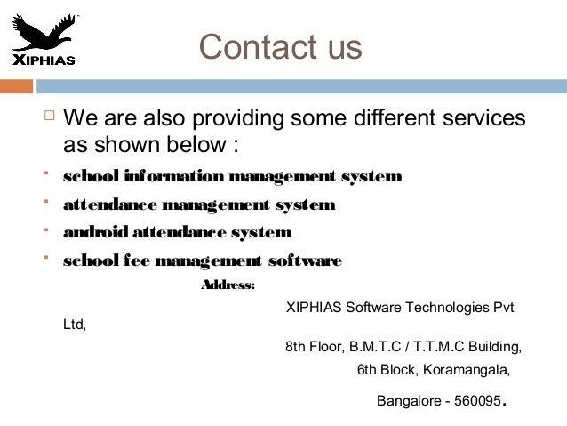 7 school management system india