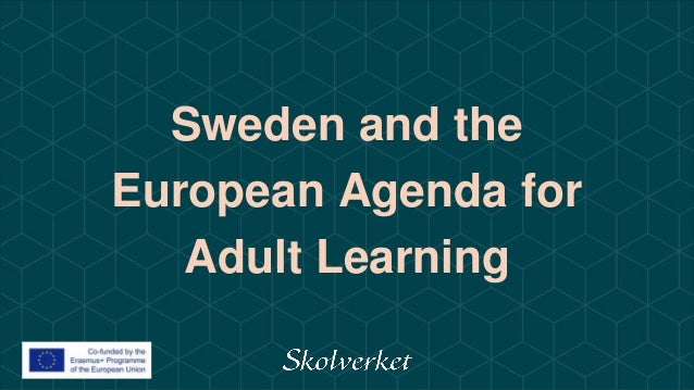 Sweden and the European Agenda for Adult Learning