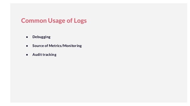 Logging in The World of DevOps