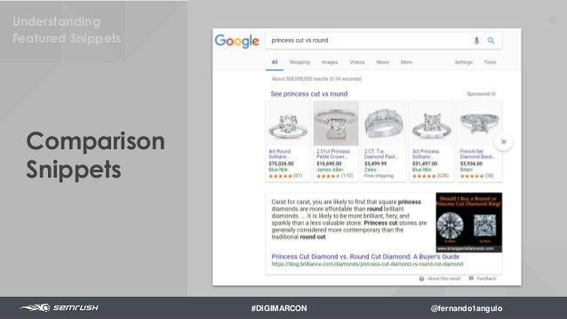 50Formatting your Featured Snippets How much content should you write? #DIGIMARCON @fernando1angulo