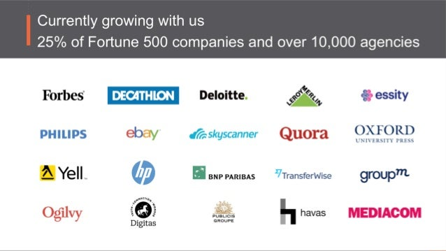 2 6 offices 700+ employees 10 years 142 regional databases 4,000,000+ users clients in 190+ countries SEMrush