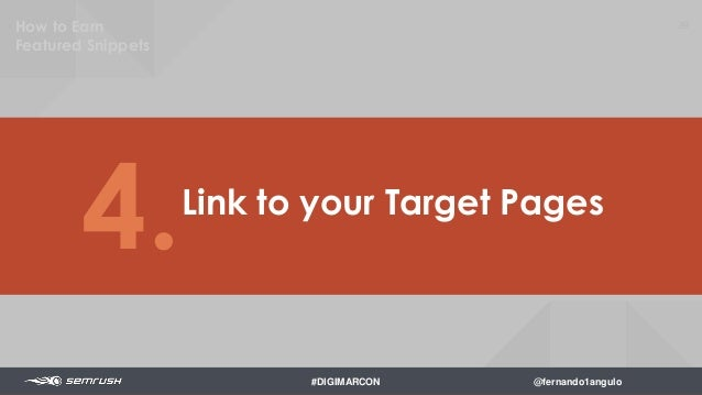 91 Amplify for Social Signals 5. How to Earn Featured Snippets