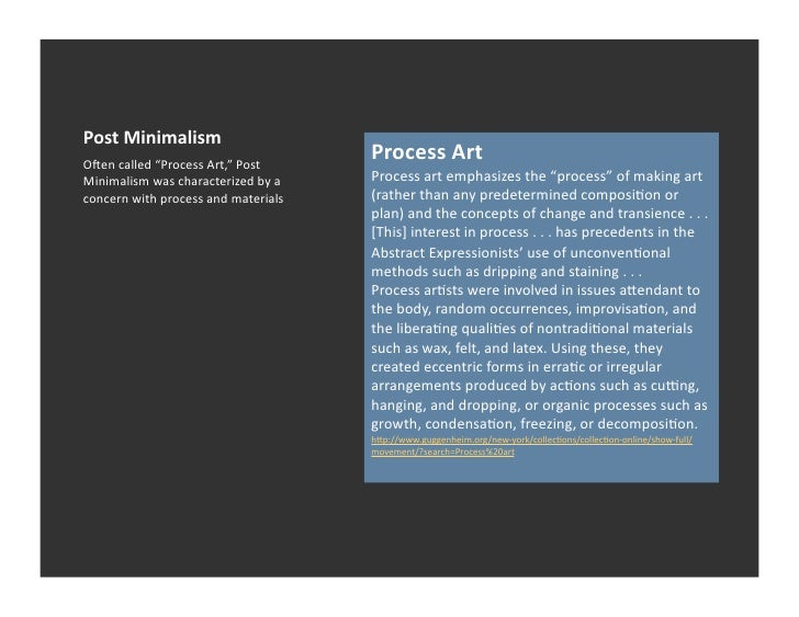 Post minimalism 1 for Art post minimalisme