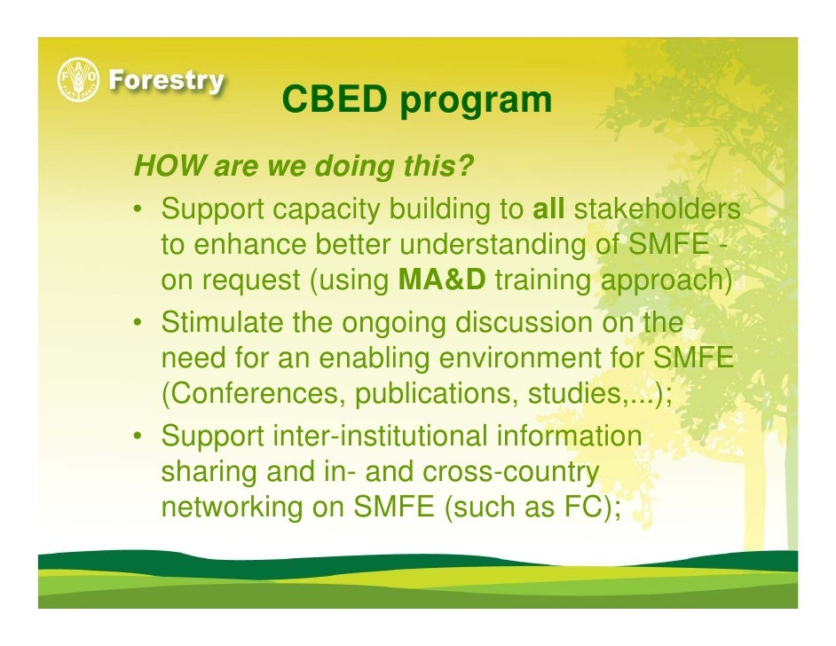 Community Based Natural Resource Management Conferences