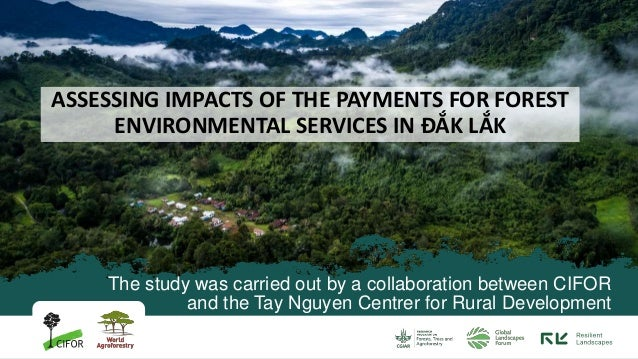 The study was carried out by a collaboration between CIFOR and the Tay Nguyen Centrer for Rural Development ASSESSING IMPA...