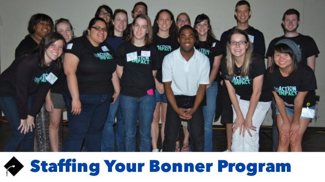Staffing Your Bonner Program