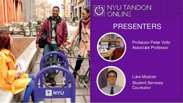 July 26 Webcast for the Electrical Engineering and Computer Engineering MS at NYU Tandon Online Slide 2