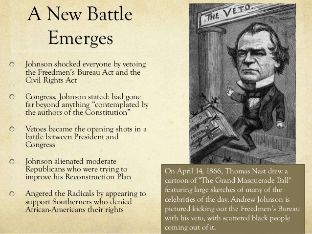 effects of radical reconstruction essay The radical republicans' response to lincoln's plan the radical  this  statement would have little impact on the public, as the military news from the  south.