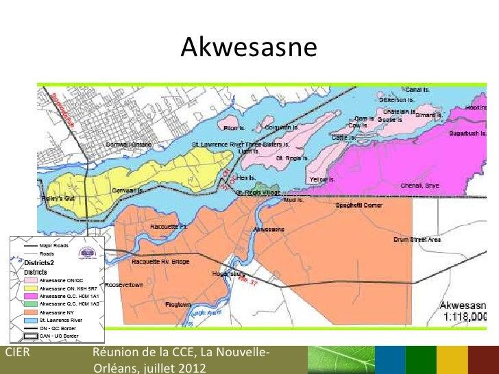 AkwesasneCIER   Réunion de la CCE, La Nouvelle-       Orléans, juillet 2012