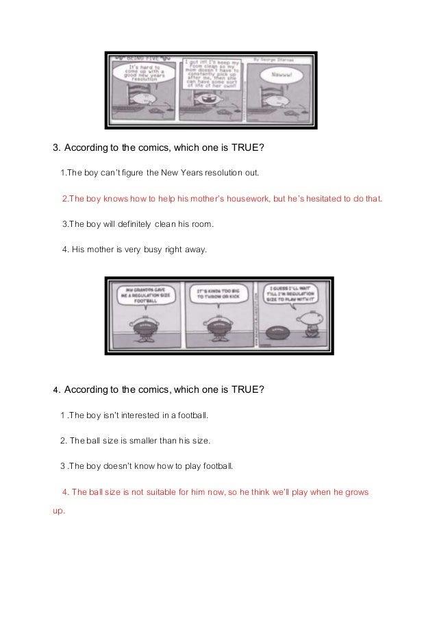 7ข้อสอบการ์ตูนภาษาอังกฤษ  พิจิตรา เชียงค้ายม5.1 Slide 2