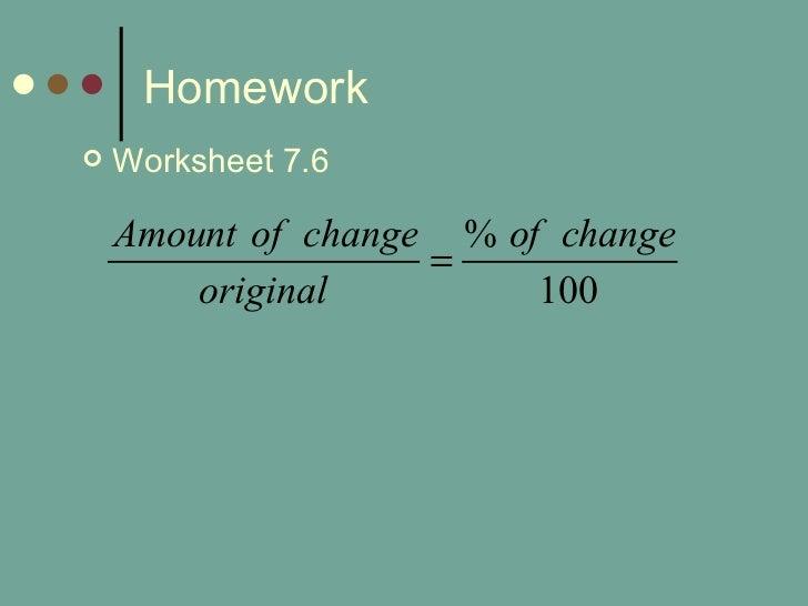 76 percent applications 2 – Percent Applications Worksheet