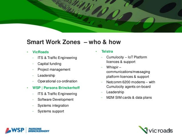 Smart Work Zones – New ways of communicating with road users