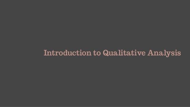 Analysing Qualitative Data Slide 3