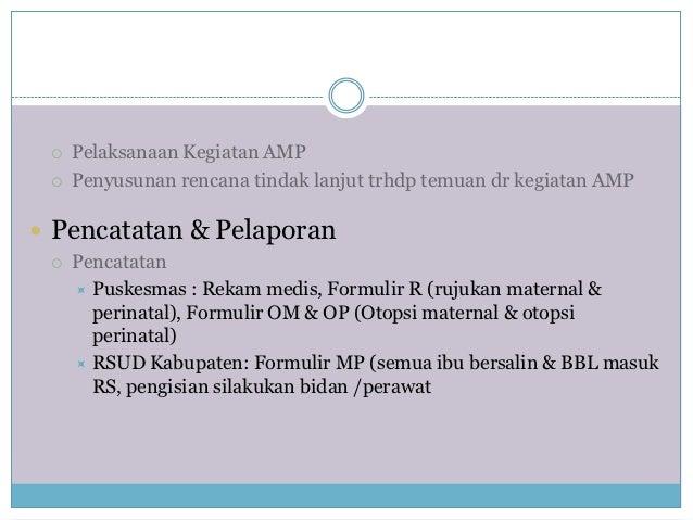 7 Audit Maternal Perinatal