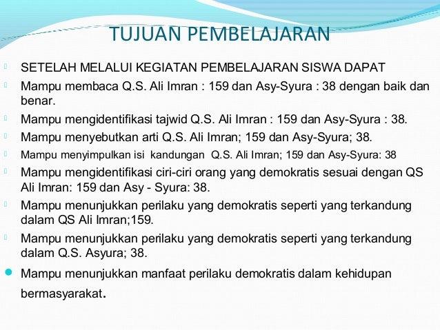 7 ayat ayat demokrasi