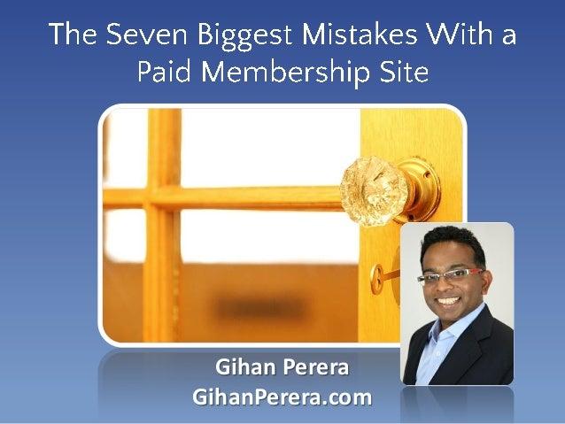 Gihan Perera GihanPerera.com